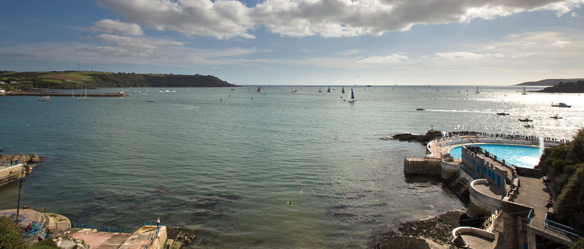 Plymouth Sounds and tinside lido