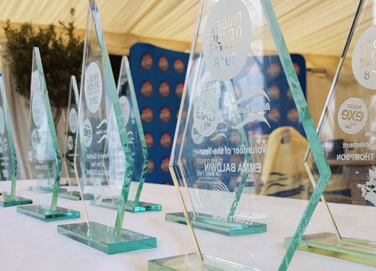 Table of Pride of Devon trophies