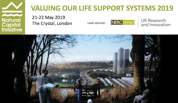 Poster for Valuing our Life Support Systems 2019