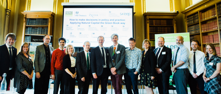 Delegates from the HM treasury event